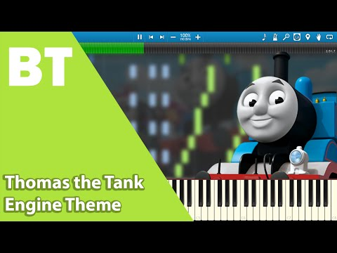 Thomas the Tank Engine Theme (Piano Cover) + Sheets