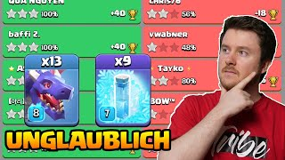 3 Sterne Taktik auf Rh 13 | Drachen + Frost = Einfach + Stark | Clash of Clans deutsch