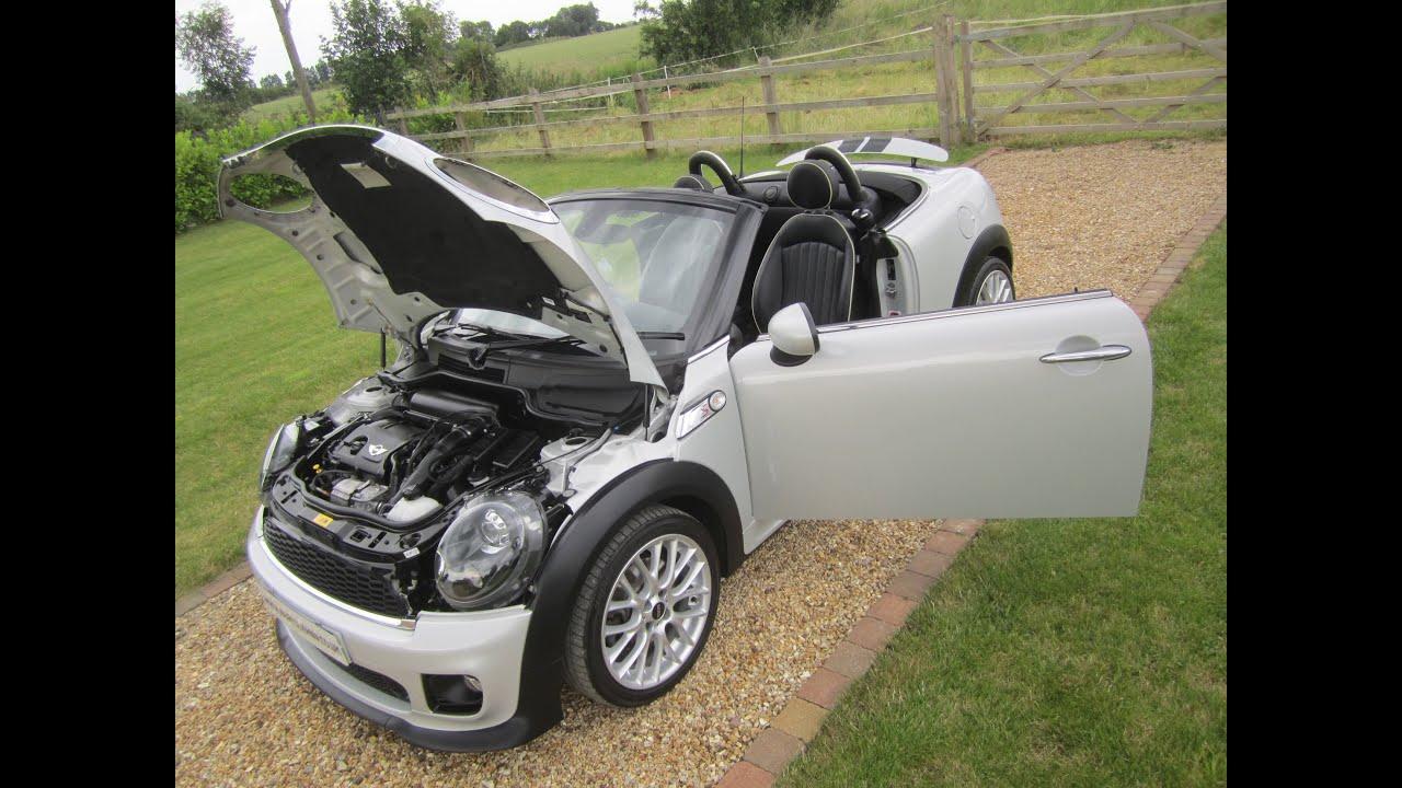 2012 mini cooper s roadster white silver jcw body kit. Black Bedroom Furniture Sets. Home Design Ideas