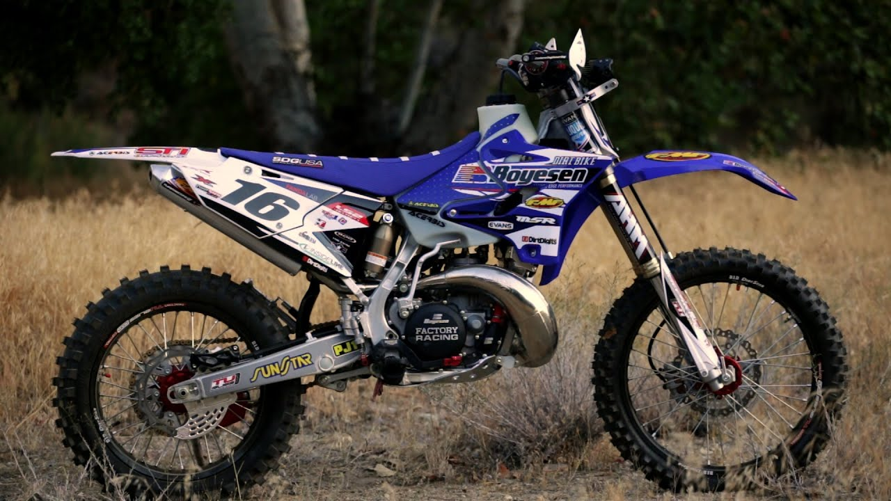 2 stroke revolution project yamaha yz250x dirt bike ma for Yamaha mini dirt bikes