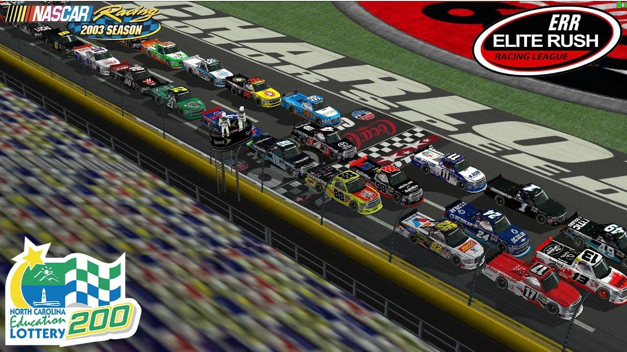 NR2003 - ERR League Race - Truck Series - Charlotte - North Carolina  Education Lottery 200
