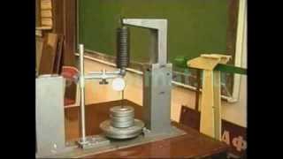Испытания винтовой пружины на растяжение(www.soprotmat.ru., 2013-02-03T19:18:22.000Z)