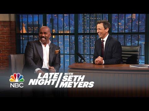 Thumbnail: Steve Harvey's Favorite Bad Family Feud Answers - Late Night with Seth Meyers