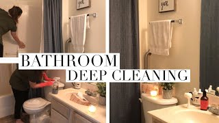 BATHROOM DEEP CLEANING | HOW TO
