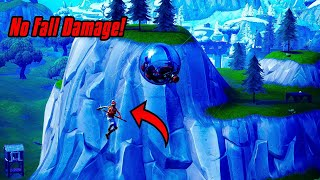 No Fall Damage Glitch In Fortnite (New) Fortnite Glitches Season 8 PS4/Xbox one