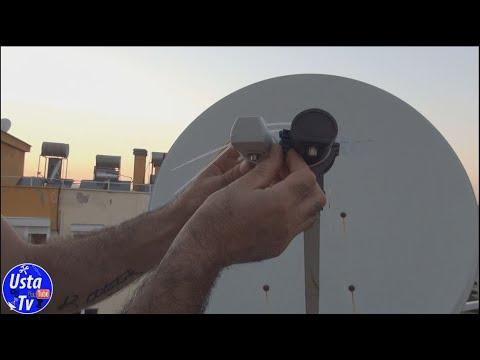 LNB montaji nasıl yapılır LNB ayarı nasıl yapılır çanak anten ayarı nasıl yapılır