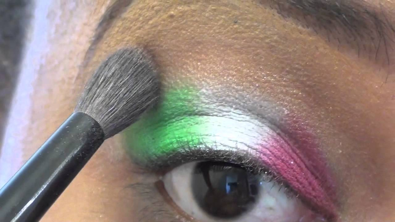 Jersey shore italian flag makeup tutorial youtube jersey shore italian flag makeup tutorial baditri Images