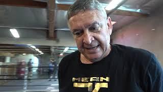Crawford vs Egis 'Mean Machine' Kavaliauskas: Check Him Out On Mitts!