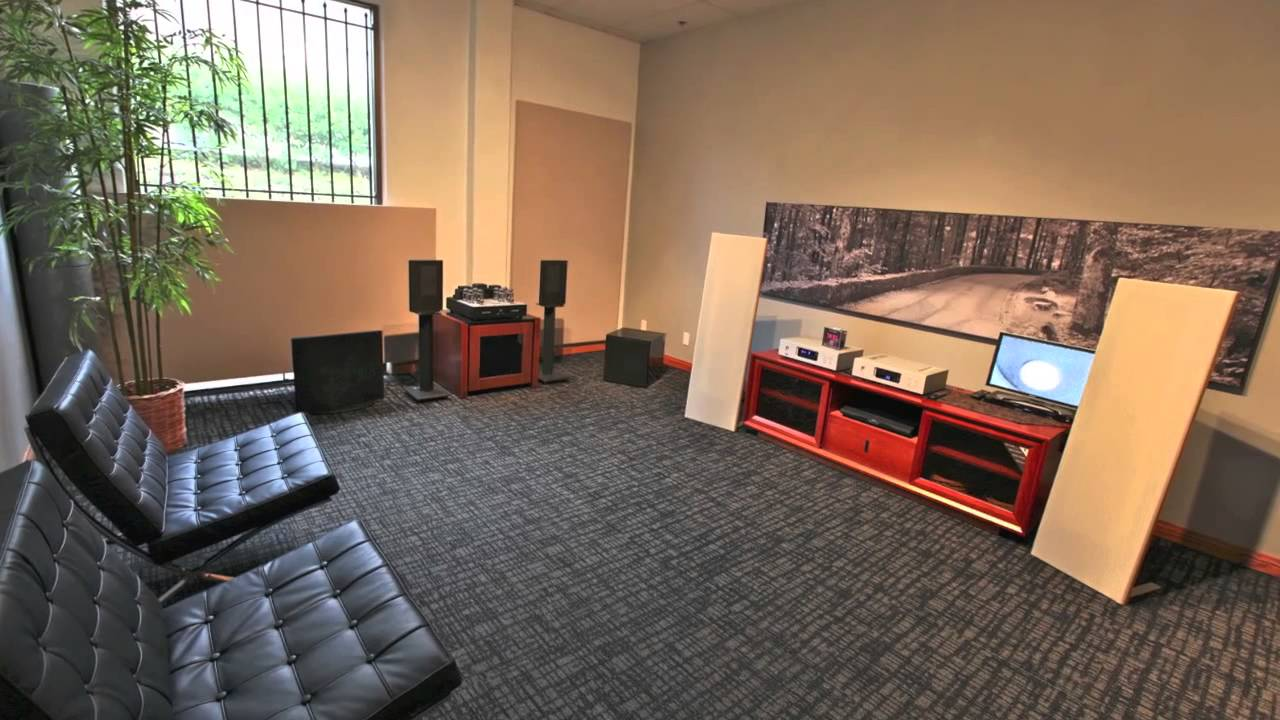 Stereo Design Sound Room Picture Tour In HD Classic YouTube - Sound room design