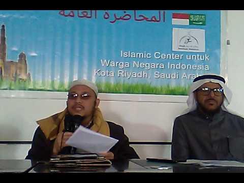 Sebab-Sebab Perpecahan Dan Solusinya Dalam Islam.  Kajian Umum Islamic Center Riyadh.