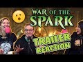 War of the Spark Trailer FIRST REACTIONS & Predictions | MTG Discussion (GLH5 Podcast Excerpt)