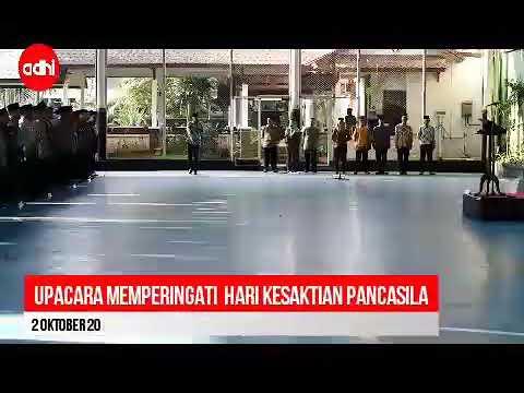 Upacara Hari Kesaktian Pancasila Tahun 2017 kantor Pusat PT Adhi Karya (Persero) Tbk