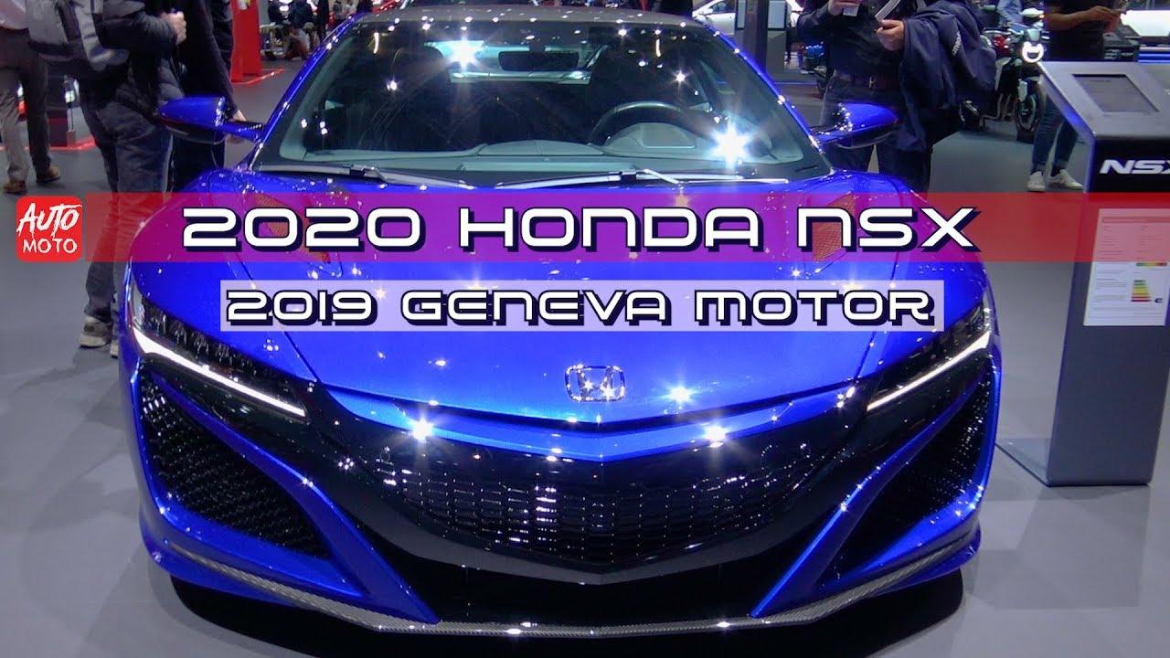 2020 Honda Nsx Exterior Walkaround 2019 Geneva Motor Show