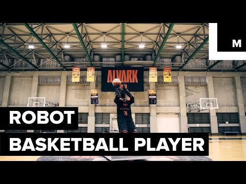 Chumley - Toyota creates a basketball playing robot that never misses a free throw.