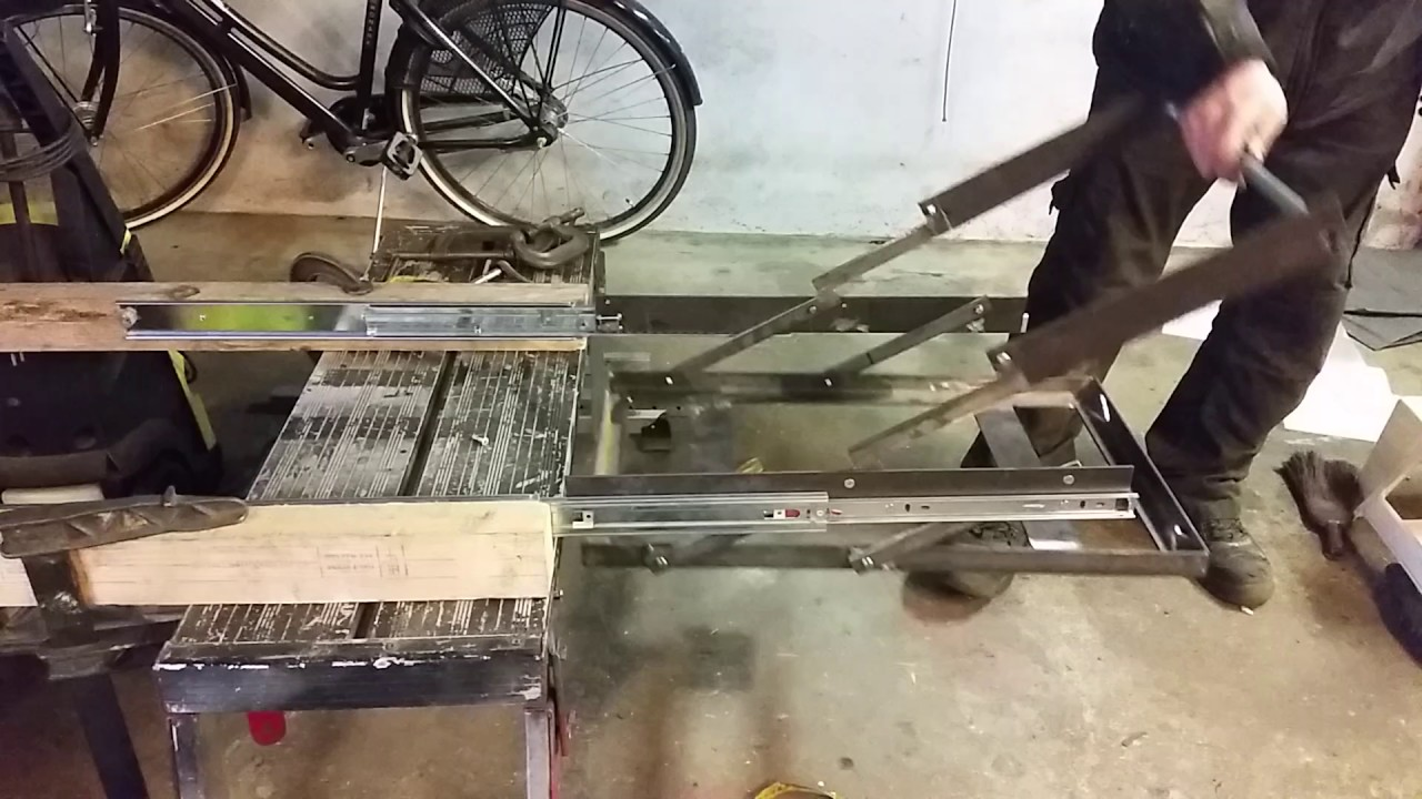 DIY fridge drop slide - YouTube