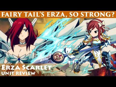 Erza Scarlet Omni Unit Review (Brave Frontier)「エルザ・スカーレット」ユニットレビュー【ブレフロ】