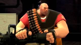 Team Fortress 2 Представляем класс пулемётчик