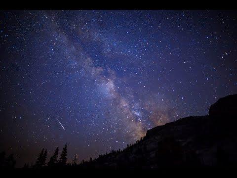 4K 2015 Perseid Meteor Shower, Yosemite National Park. UHD