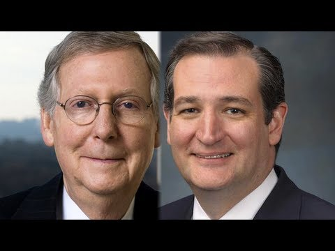 Ted Cruz vs Mitch McConnell-- The GOP
