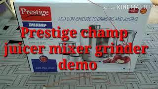 Prestige juicer mixer grinder demo sonam khatri