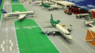Lego City Airport - Brick Wonders - Huge LEGO Airport Layout