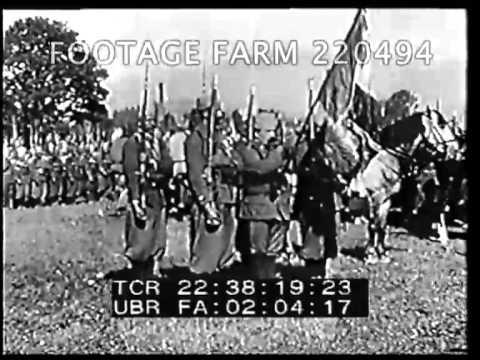 WWI, French Military 220494-07 | Footage Farm