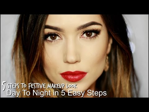 5 Step Makeup Tutorial for Holiday