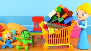Kids Playing With Construction Toys ❤ Cartoons For Kids