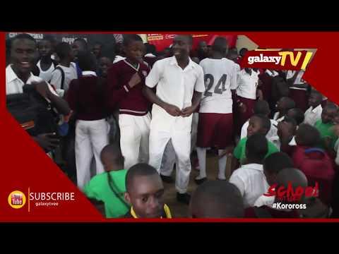 Kololo Senior Secondary School students showing off talent