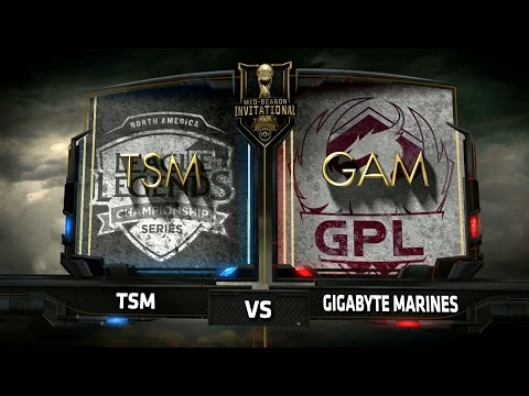 TSM vs GAM Game 1 - Mid Season Invitational 2017 - Team SoloMid vs Gigabyte Marines