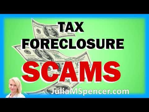 22nd 'Real Estate Real Talk' Radio Show Aired 02-28-2018 Tax Foreclosure Scams