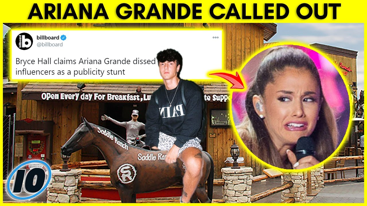 Bryce Hall Hits Back at Ariana Grande For This | InformOverload