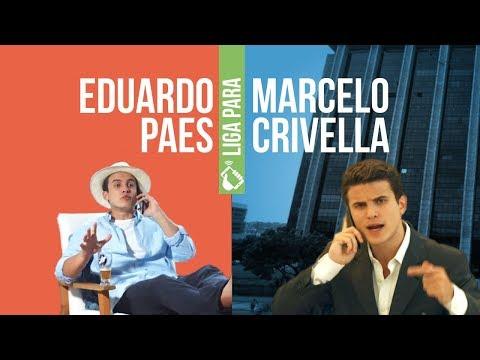 Eduardo Paes liga para Crivella