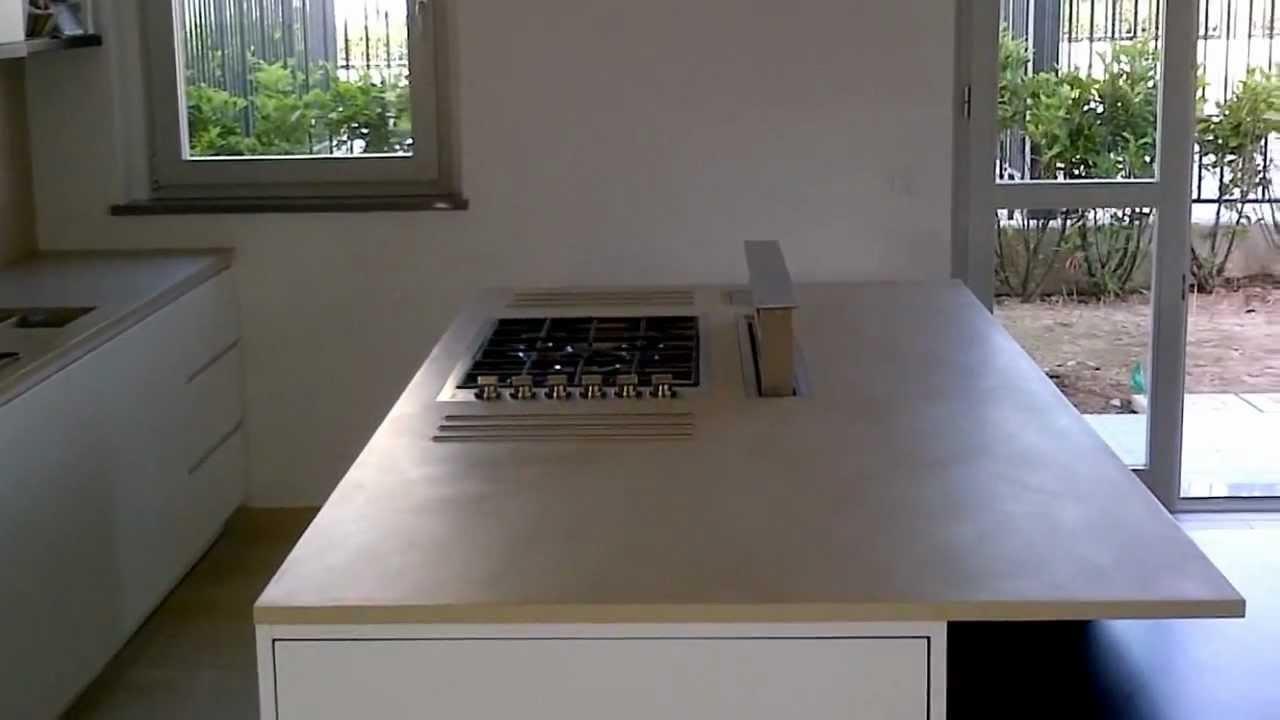 CUCINA IN CORIAN MOMA DESIGN - YouTube