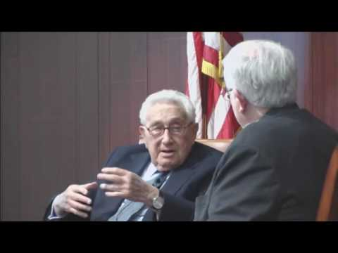 The New World Order in Henry Kissinger's Own Words