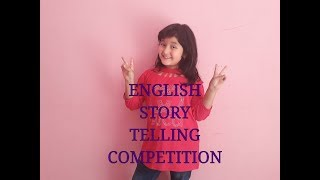 ENGLISH STORY TELLING COMPETITION || THE FOX AND THE CRANE/moral story for kids || BY ADITRI BOHRA