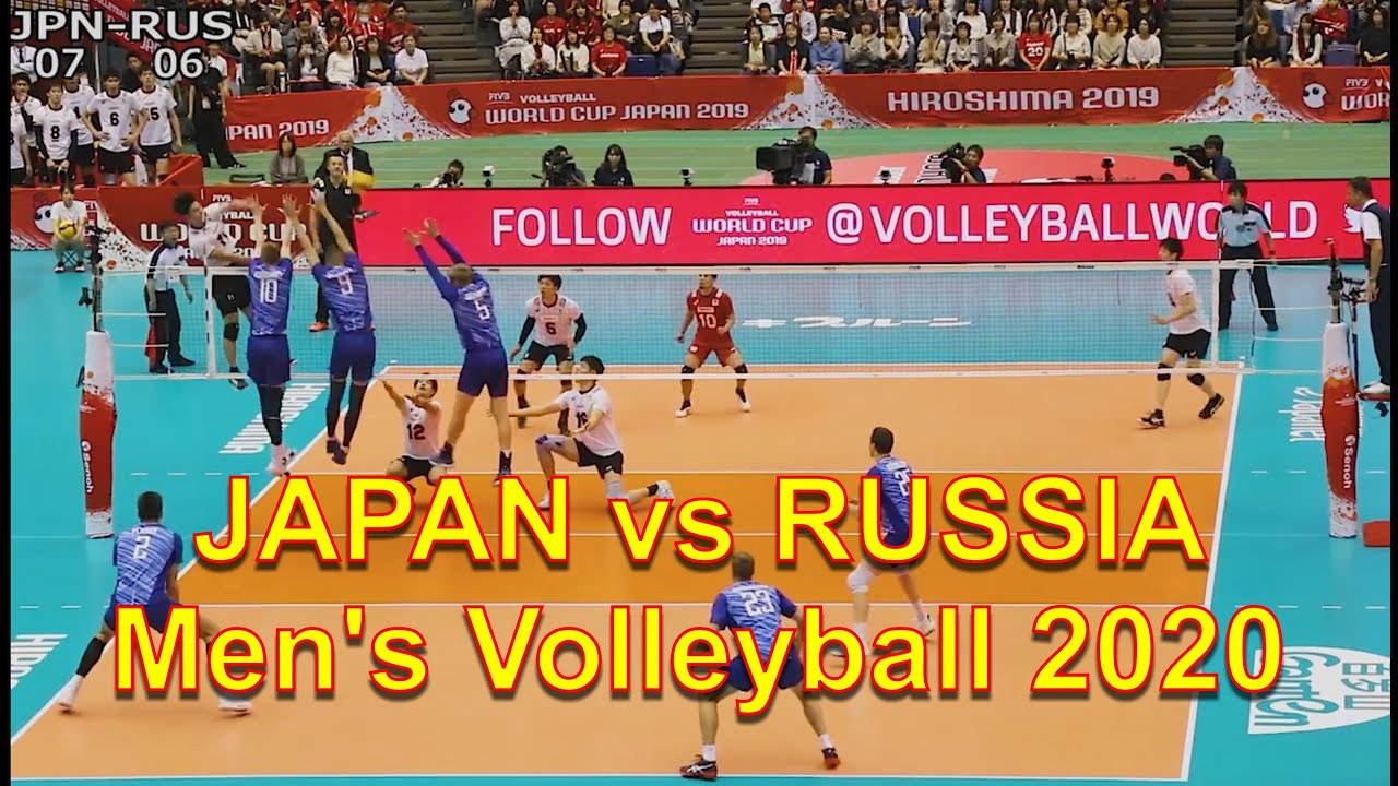 Download JAPAN vs RUSSIA Men's Volleyball 2020