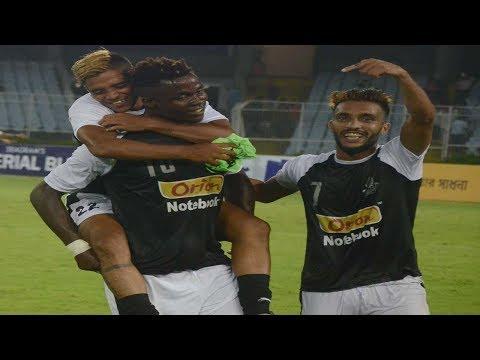 Sadhna News CFL 2018: East Bengal vs Mohammedan Sporting Club | Goals & Special Moments
