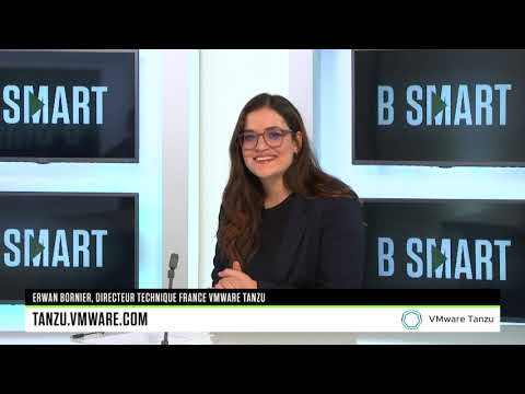 L'interview de Erwan Bornier par B SMART TV I VMware Tanzu
