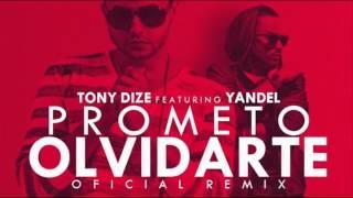 Tony Dize - Prometo Olvidarte (Remix) ft. Yandel