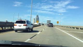 Mobile Alabama near the tunnel
