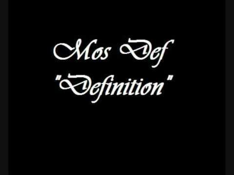 Mos Def feat. Talib Kweli - Definition