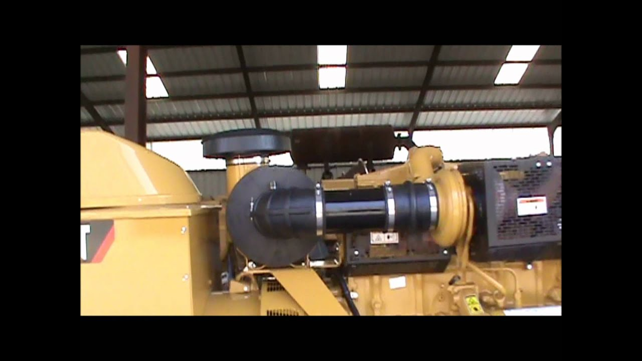 Caterpillar 3406DITA 400kW, 480V w/ Fuel Tank Open Diesel Generator Set