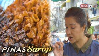 Pinas Sarap: Inihaw street food na 'tres quatro,' tinikman ni Kara David