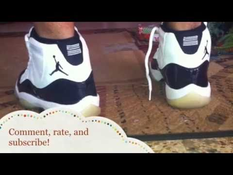 8e3d02f4e5ebd3 Air Jordan 11 Concord Retro 2000 Latinoheatttt Review - YouTube
