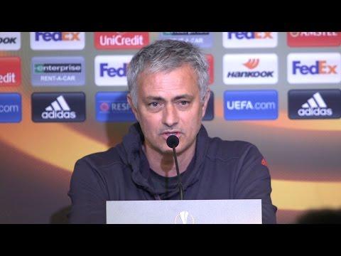 Jose Mourinho Full Pre-Match Press Conference - Anderlecht v Manchester United - Europa League