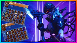 "Before You Buy ""ARACHNE"" - All Skin and Back Bling's Combinations in Fortnite"