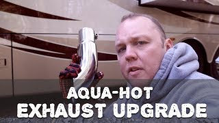 RV Aqua-Hot Exhaust Upgrade - Stainless Steel Exhaust Tip Replacement