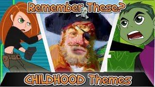 CHILDHOOD THEMES - DISNEY/NICK/CARTOON NETWORK -Remember THEM? - FINISH THE LYRICS(Animated) p.2