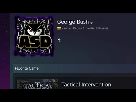 George Bush palieka Slimi CS:GO projektą?!